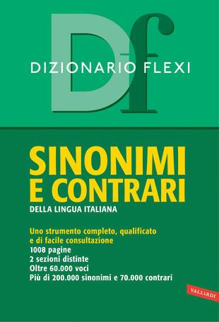 copertina Dizionario sinonimi e contrari flexi