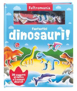 copertina Fantastici Dinosauri