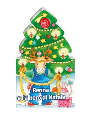 Immagini Di Copertina Di Natale.Renna E L Albero Di Natale Di Gabriele Clima Cartonato Le Mie Storie Di Natale Il Libraio