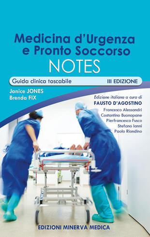 copertina Medicina d'urgenza e pronto soccorso notes. Guida clinica tascabile