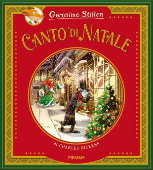 copertina Canto di Natale di Charles Dickens. Ediz. a colori