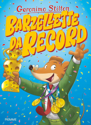 copertina Barzellette da record