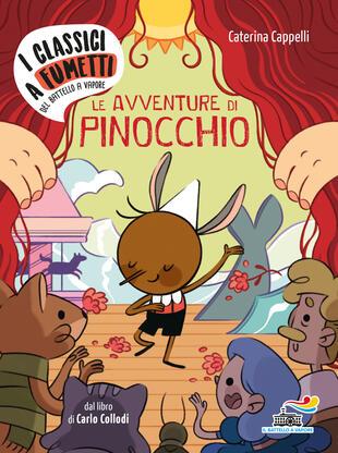 copertina Le avventure di Pinocchio di Carlo Collodi
