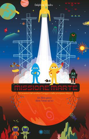 copertina Missione Marte. Ediz. a colori