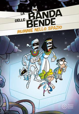 copertina Mummie nello spazio. Ediz. a colori