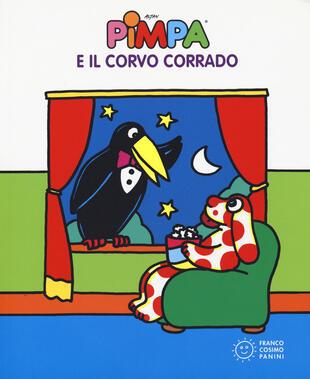 copertina Pimpa e il corvo Corrado. Ediz. a colori