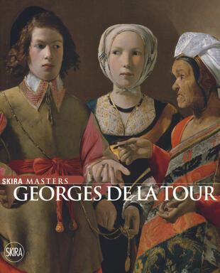 copertina Georges de La Tour. Ediz. a colori