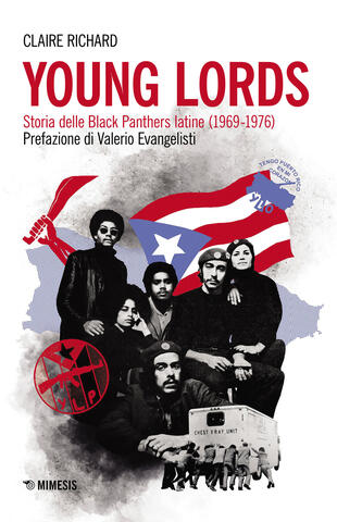 copertina Young Lords. Storia delle Black Panthers latine (1969-1976)