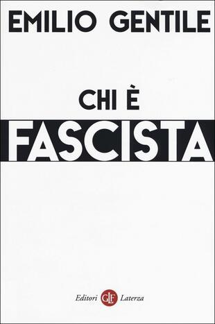 copertina Chi è fascista