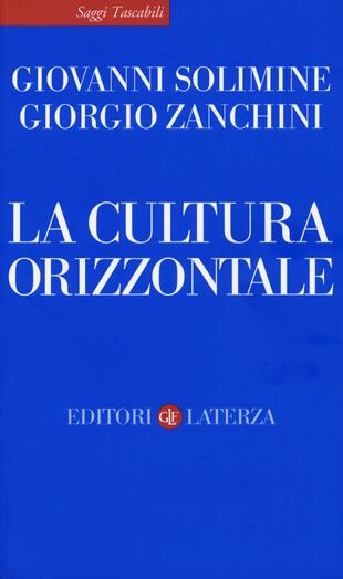 copertina La cultura orizzontale