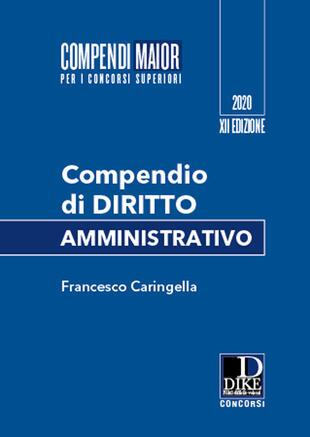 copertina Compendio di diritto amministrativo. Maior
