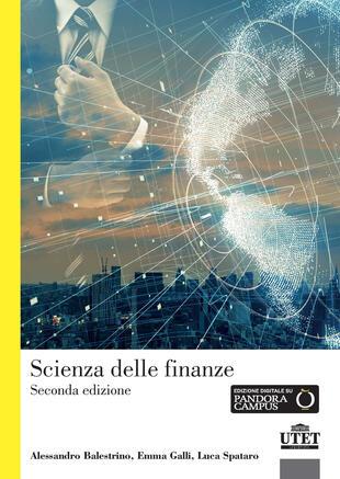copertina Scienza delle finanze