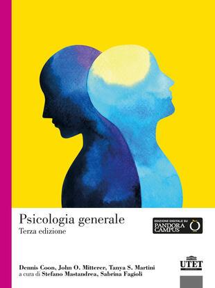 copertina Psicologia generale