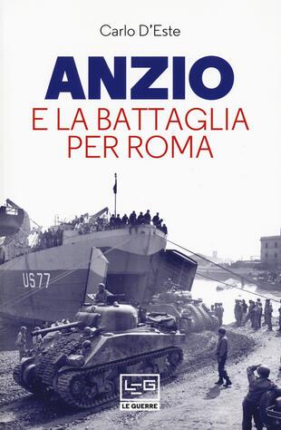 copertina Anzio e la battaglia per Roma