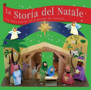 copertina La storia del Natale. Libro puzzle