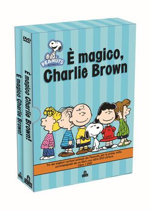 copertina I Peanuts. È magico, Charlie Brown. Con DVD
