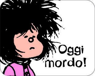 copertina Oggi mordo! Mafalda