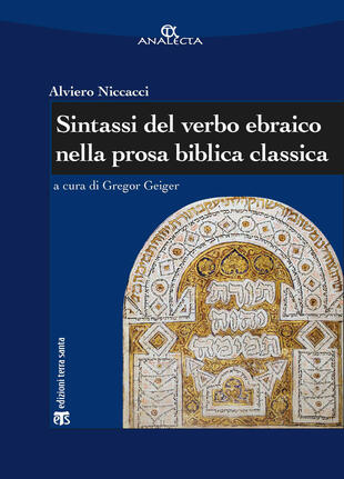 copertina Sintassi del verbo ebraico nella prosa biblica classica