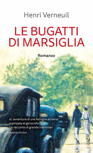 copertina Le Bugatti di Marsiglia