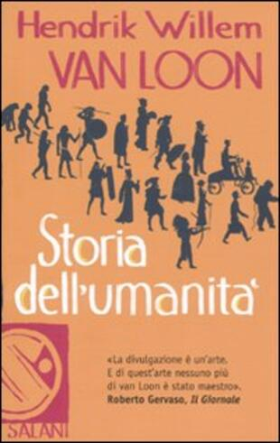 copertina Storia dell'umanità