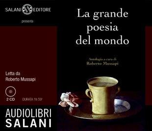 copertina La grande poesia del mondo 2CD