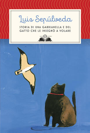copertina Storia di una gabbianella e del gatto che le insegnò a volare