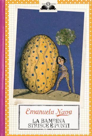 copertina La bambina strisce e punti