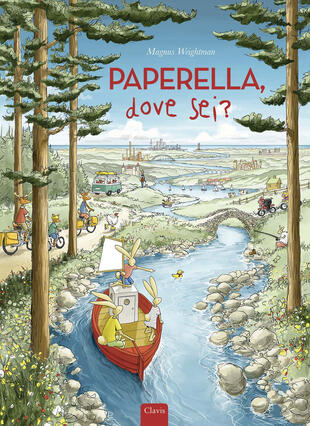copertina Paperella, dove sei? Ediz. a colori