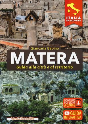copertina Matera. Guida alla città e al territorio