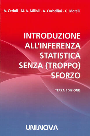 copertina Introduzione all'inferenza statistica senza (troppo) sforzo