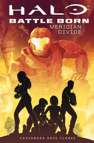 copertina Meridian divide. Halo. Battle born
