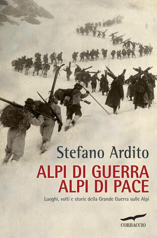 copertina Alpi di guerra, Alpi di pace