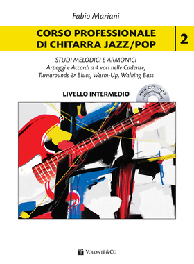 Corso professionale di chitarra jazz/pop. scale, triadi melodiche e armoniche. Con CD-Audio. Con File audio per il download