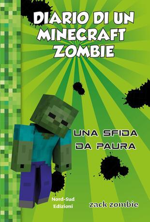 copertina Diario di un minecraft zombie Una sfida da paura