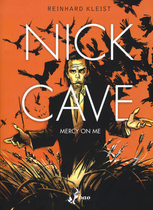 copertina Nick Cave. Mercy on me
