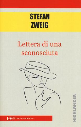 copertina Lettera di una sconosciuta