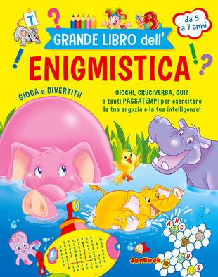 copertina Grande libro dell'enigmistica