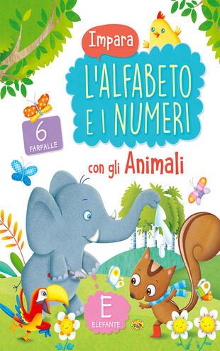 copertina Impara l'alfabeto e i numeri con gli animali