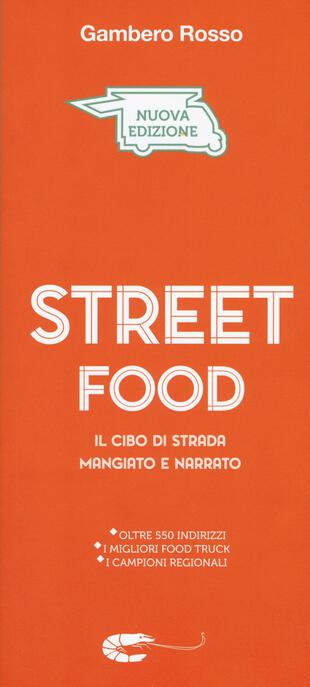 copertina Street food. Il cibo di strada mangiato e narrato