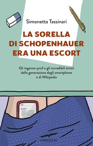 copertina La sorella di Schopenhauer era una escort