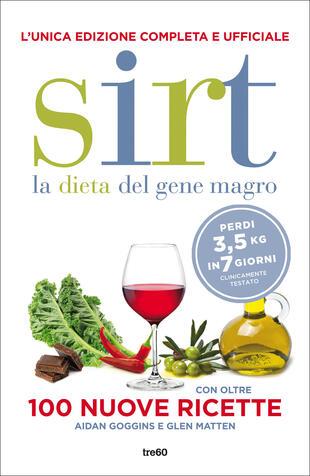 copertina Sirt - la dieta del gene magro