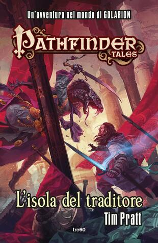 copertina Pathfinder tales. L'isola del traditore