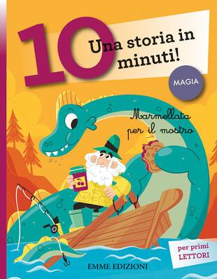 copertina Marmellata per il mostro. Una storia in 10 minuti!