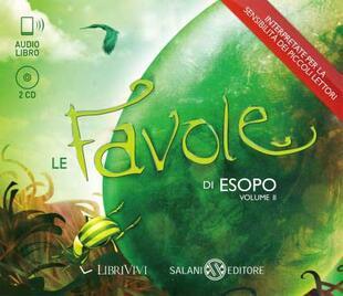 copertina Le favole di Esopo vol 2 2CD