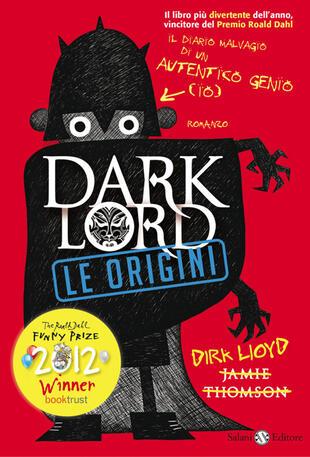 copertina Dark Lord. Le origini
