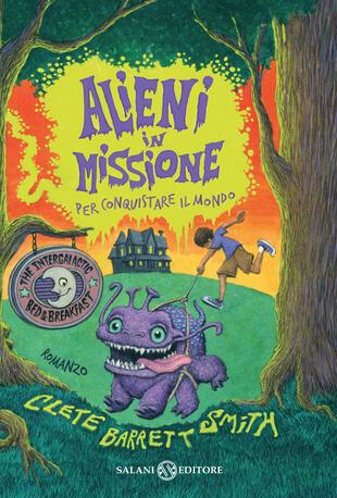 copertina Alieni in missione