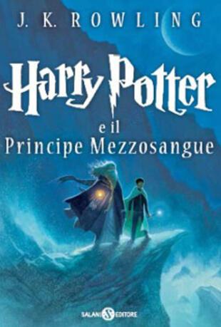 copertina Harry Potter e il Principe Mezzosangue
