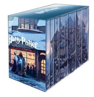 copertina Harry Potter. La serie completa