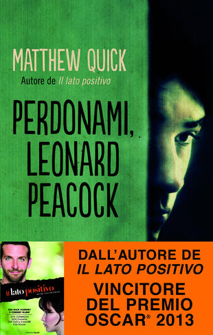 copertina Perdonami, Leonard Peacock