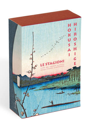 copertina Hokusai. Hiroshige. Le stagioni viste dai grandi maestri della stampa giapponese. Ediz. a colori